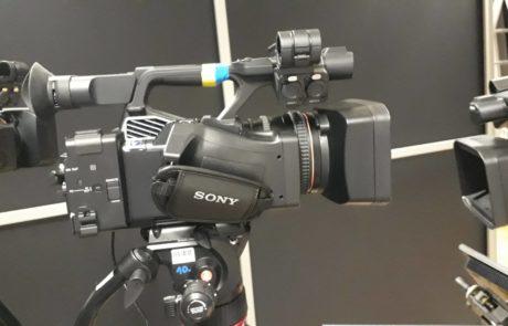 Kameraequipment. Digitales Event. Frankfurter Zukunftskongress