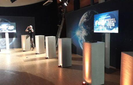 Digitales Event - Frankfurter Zukunftskongress - Aufbau